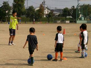 キッズサッカー遊び(練習)集のイメージ